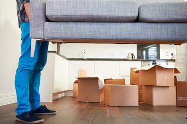 Tips para tener una mudanza fácil sin lastimar tus muebles